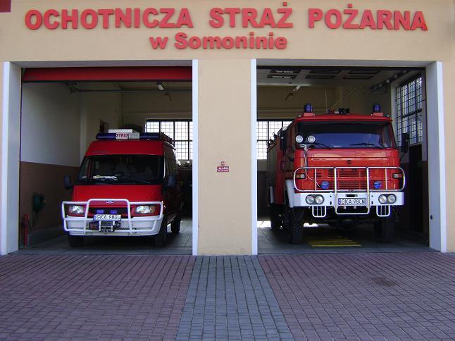 Samochody ratowniczo-gaśnicze OSP Somonino