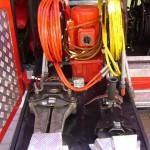 Duży zestaw do ratownictwa drogowego Weber nożyce i rozpieracz wraz z pompą hydrauliczną z napędem elektrycznym